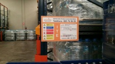placa inspección de estanterías