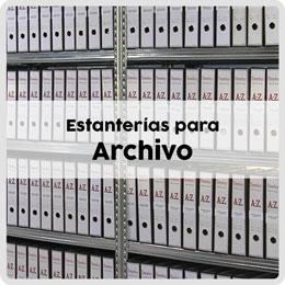 Estanterías para archivo