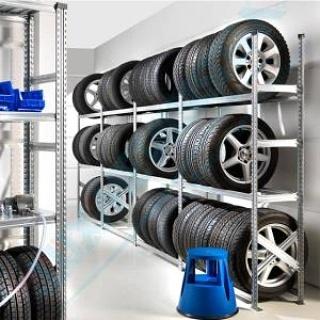 estanterías para talleres neumáticos en Tenerife