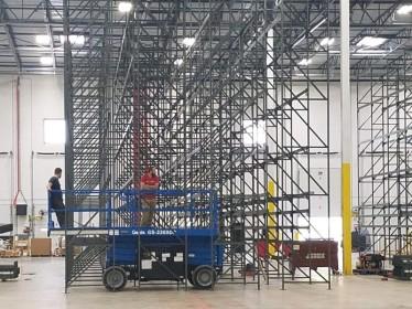 montaje de estanterías industriales tenerife