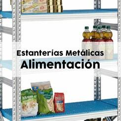 estanterías sector alimentación en Tenerife