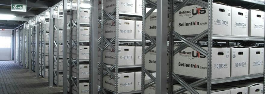 Estanterías metálicas para almacenaje